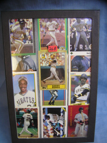 Collection of Barry Bonds all star baseball cards