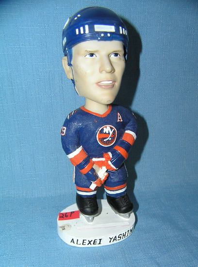 Alexei Yashin New York Islanders bobble head figure