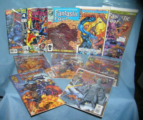 Collection of Fantastic 4 comic books