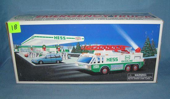 Vintage HESS emergency truck