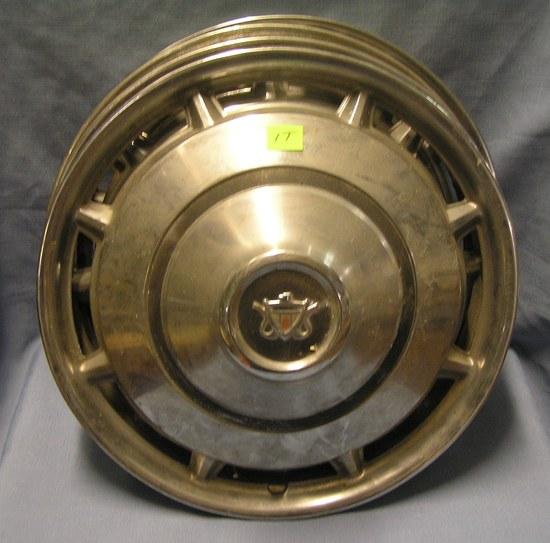 Complete set of 4 vintage hub caps
