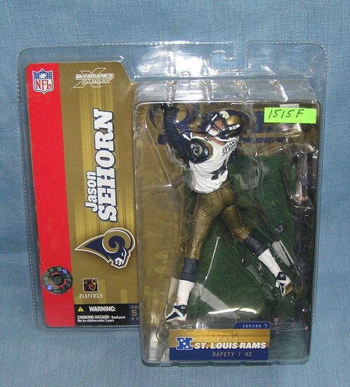 Jason Sehorn football sports figure