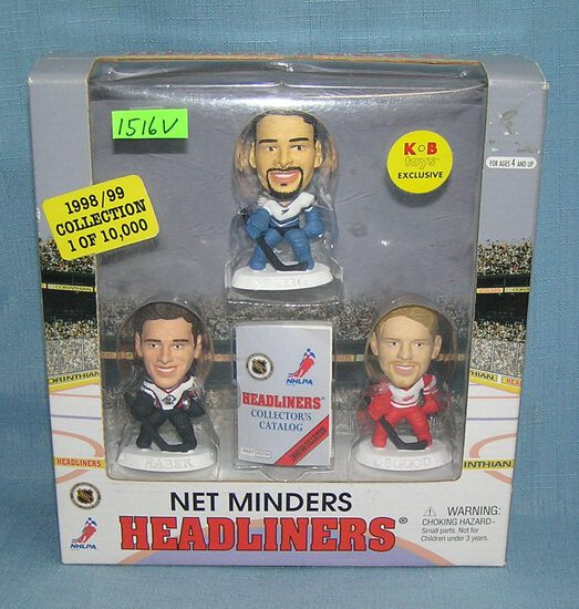 Box set of Hockey all star figures