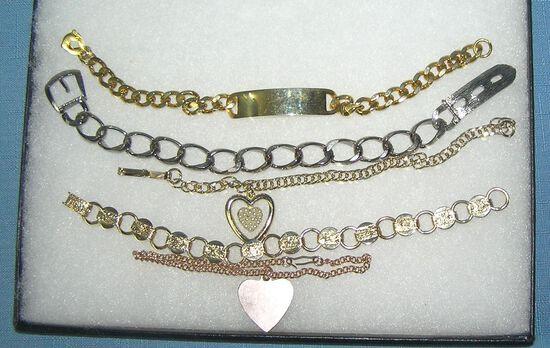 Collection of vintage bracelets