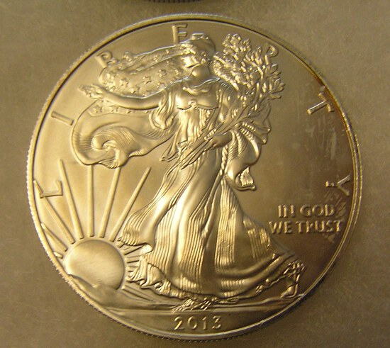 Walking Liberty 1 troy oz silver commemorative coin