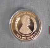 A. Lincoln Gettysburg address commemorative medallion