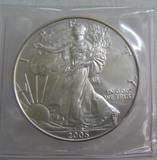 Walking Liberty silver eagle 1 oz of fine pure silver