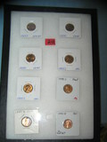 Collection of high grade Lincoln pennies