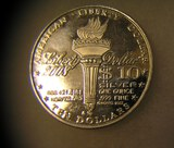 America Liberty dollar 1 troy ounce of fine silver coin