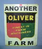 Oliver Finast Farm Machinery retro style sign