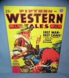 Western Tales retro style advertising sign