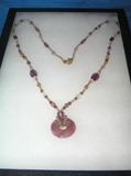 Signed Napier necklace