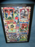 Collection of vintage football all star cards