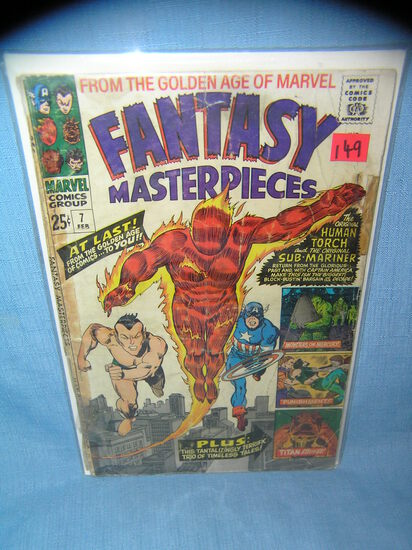 Early Fantasy Masterpieces comic book