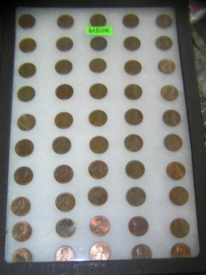 Original US Abraham Lincoln copper pennies