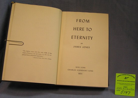 From Here to Eternity vintage book by James Jones