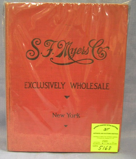 SF Myers and company jewelry wholesaler's catalog