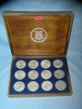 Pure silver state of Isreal medallion set by Salvidor Dali