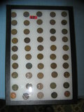 Large collection of early Lincoln wheat back pennies