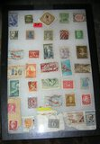 Collection of worldwide postage stamps
