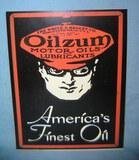 Oilzum America's Finest Oil retro style sign
