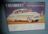 Chevrolet retro style advertising sign