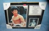 Bruce Lee karate super star photo diorama