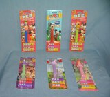 Walt Disney collectible PEZ candy containers