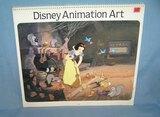 Vintage Disney animation art calendar
