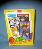 1989 Donruss baseball cards 36 pack box