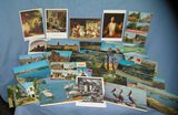 Large collection of vintage post cards