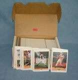 Box full of 1992 Score classic best rookie cards