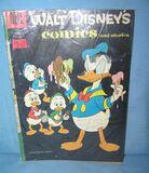 Early Walt Disney comic book featuring Donald Duck