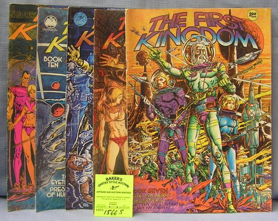 Collection of oversized comic books