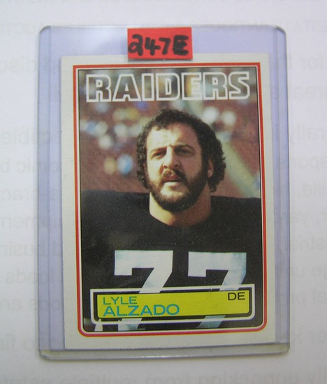Lyle Alzado Vintage football card