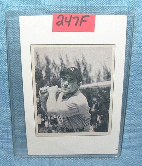 Yogi Berra Bowman reprint Baseball card