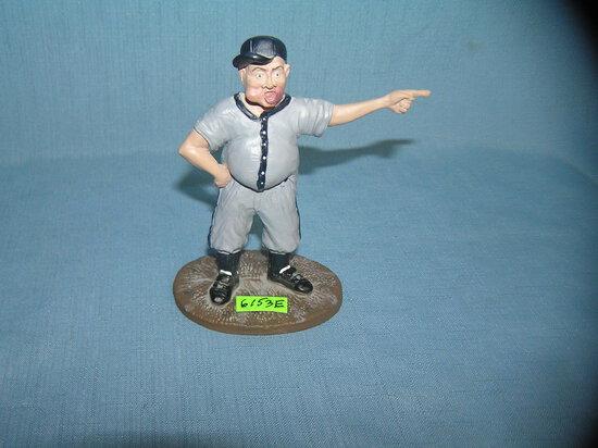 Hartland baseball coach 5 inch figural statue