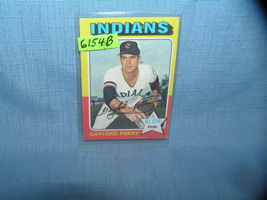 Vintage Gaylord Perry all star baseball card