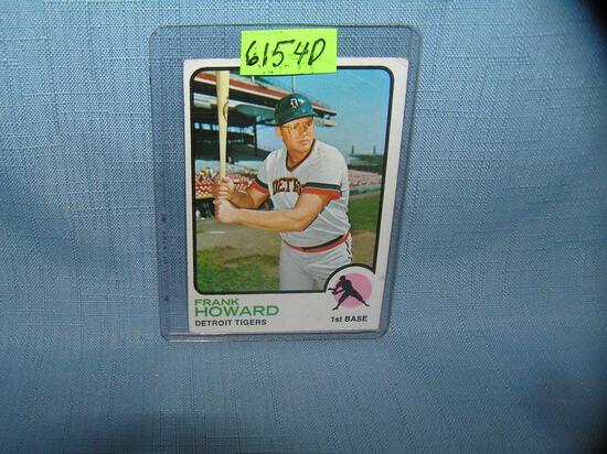 Vintage Frank Howard all star baseball card