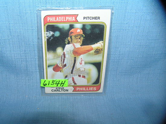 Vintage Steve Carlton all star baseball card