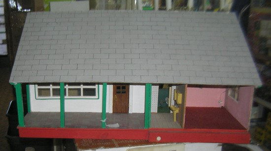 Vintage double sided child's doll house