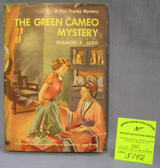 The Green Cameo Mystery book