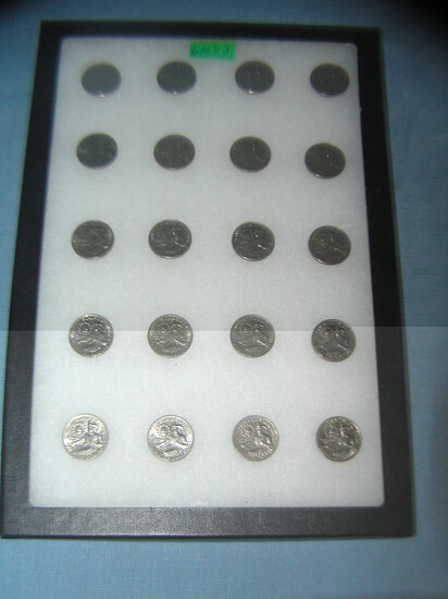 Collection of vintage Bicentennial quarters