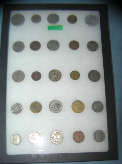 Collection of vintage misc coins