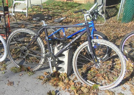 Gary Fisher titanium mountain bike