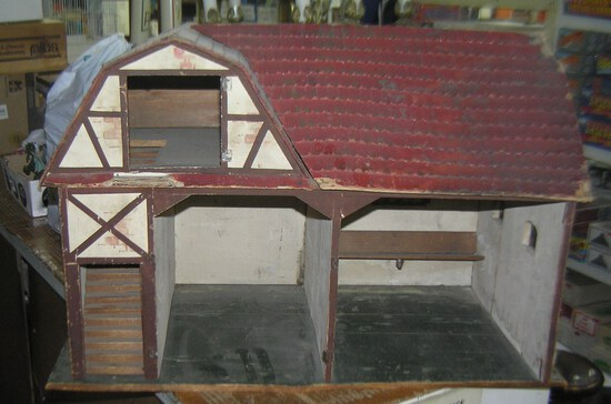 Antique barn shaped model/building/child's play house