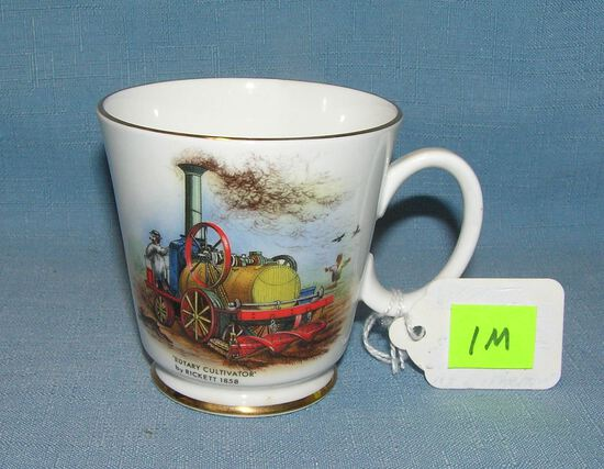 Antique English bone china cup