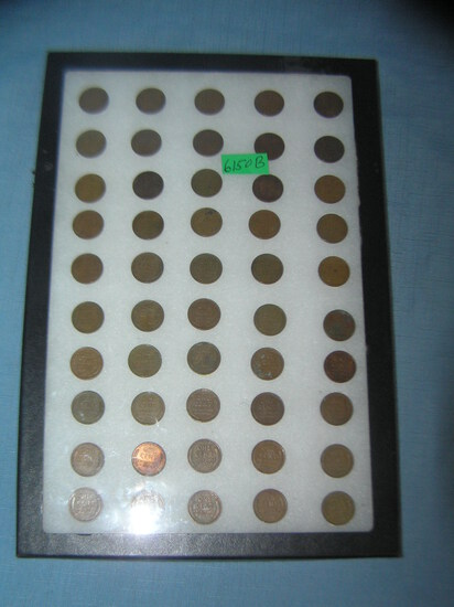 Lincoln wheat back pennies all pre 1959