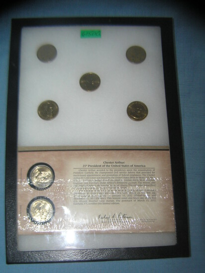 Presidential and Sacajawea golden dollar coins