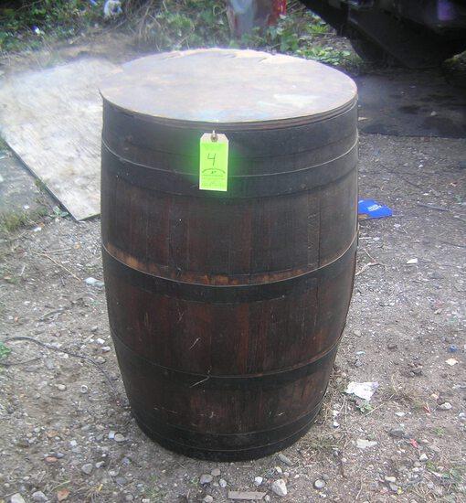 Antique wine barrel circa 1880's